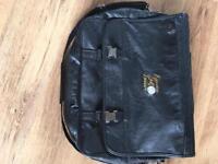Quadra qd65 portfolio briefcase with executive golf and leisure logo