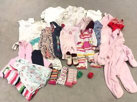 Baby Girl Bundle - Age 3-6 months - SMOKE & PET FREE HOME