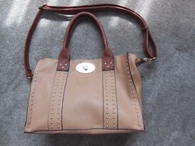 Pleather Handbag