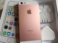 Iphone 5s 16gb metallic rose gold and white (vodafone )