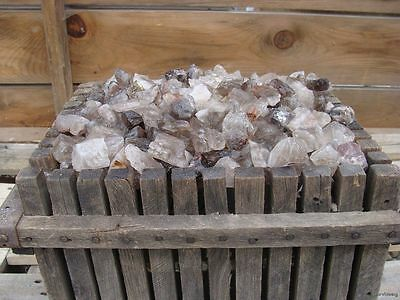 UNSEARCHED NATURAL SMOKEY QUARTZ - 1000 CARATS - Rough Rocks - Crystals - Gems