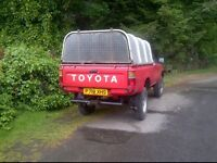 wanted: toyota hilux pickups, any age and condition, diesel