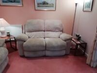 Two two seater reclining sofas FREE