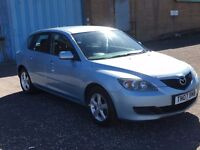 2007 Mazda 3 ts 1.6 , mot - March 2018 , only 66,000 miles,2 owners,focus,astra,megane,civic,auris