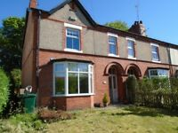 3 Bed Semi to rent with gardens and parking in Chester