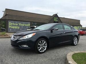 2011 Hyundai Sonata Limited / LEATHER / SUNROOF / UPGRADED STERE