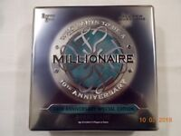 WHO WANTS TO BE A MILLIONAIRE? Board Game 10th ANNIVERSARY SPECIAL EDITION Metal box