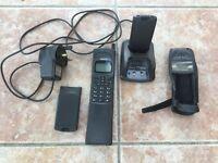 Nokia 8110 Banana Matrix Mobile Phone with accessories