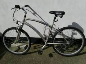 LANDRIDER BIKE AUTOMATIC SHIFT AUTO GEARBOX CHANGE AS PEDAL DUAL SUSPENSION 17 INCH FRAME 26 WHEEL