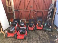 WANTED PETROL LAWNMOWERS CASH PAID ANY CONDITION WORKING OR NOT