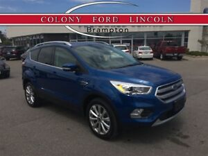 2017 Ford Escape FORD COMPANY DEMO, 0% LEASE OR FINANCE!