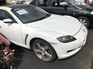 1095 - Mazda RX8 2006 white
