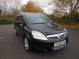 Vauxhall Zafira 1.6 i 16v Breeze 5dr, 7 Seats, New MOT, Service History