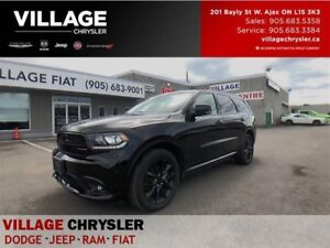 2017 Dodge Durango R/T|Blacktop|Safety Tec|Sunroof|Leanter|Nav|R