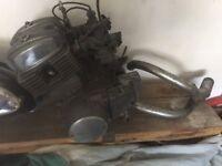 work shop clearance parts Honda 125cc engine