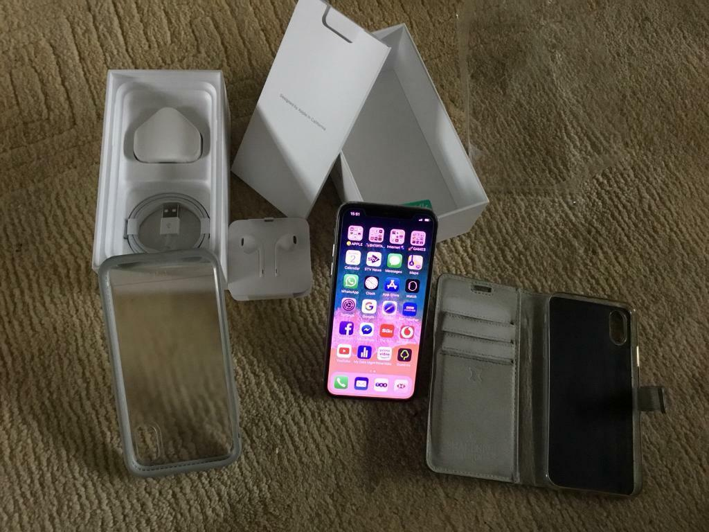 meet a3c94 22b5d UNLOCKED (Bought from Tesco Direct)IPhone X 256GB SILVER with 4 months  Warranty £750.00 | in Renfrew, Renfrewshire | Gumtree