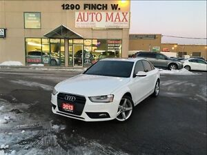 2013 Audi A4 Premium Plus, Navigation, Rear View Camera, One Ow