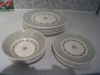 Mason's Madrigal pattern - Dining plates/side plates/bowls
