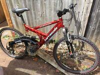 Slalom barracuda 24 gear mountain bike
