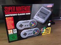Brand-New Nintendo SNES Classic Mini Console - Never Opened