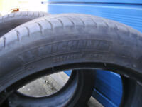 Pair Michelin tyres 235/45/17