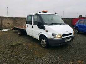 Transit crew cab recovery project