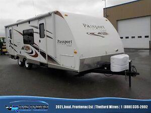 2012 Keystone RV PASSPORT 245RB ULTRA LITE !!