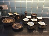 JOB LOT Vintage Denby Arabesque Pottery Tableware Exc Cond Collectable Rare