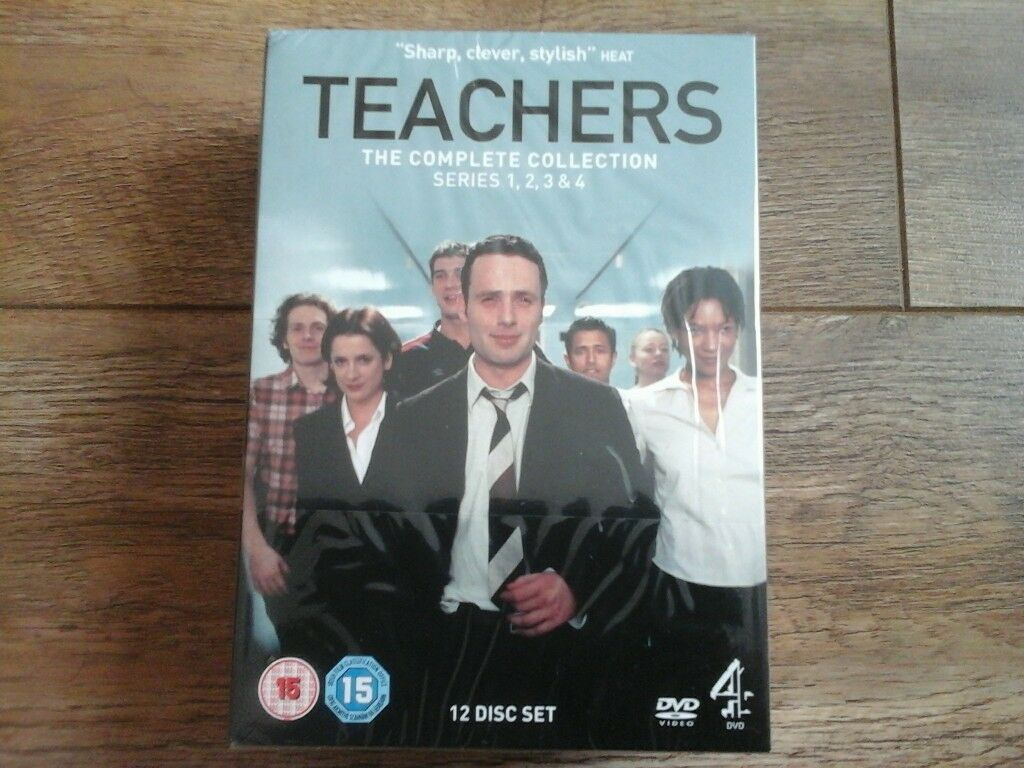 Brand new, still sealed, TEACHERS Complete Collection DVD box set season 1 - 4