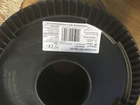 Reel of Prysmian 6242Y Twin & Earth electrical Cable 10mm² x 20m Grey.
