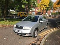 2002 SKODA FABIA 1.9 TDI WITH FULL SERVICE HISTORY FOR SALE