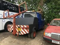 Ford transit spec lift recovery