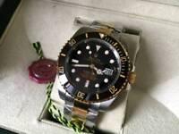 Swiss Rolex Submariner Automatic Watch 2tone
