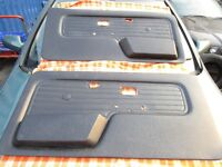 bmw e30, very good clean cond coupe doorcards