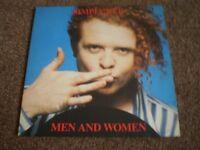 Vintage Vinyl LP 1980's - Simply Red - Men and Women