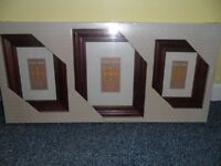 A box set of Timber picture frames