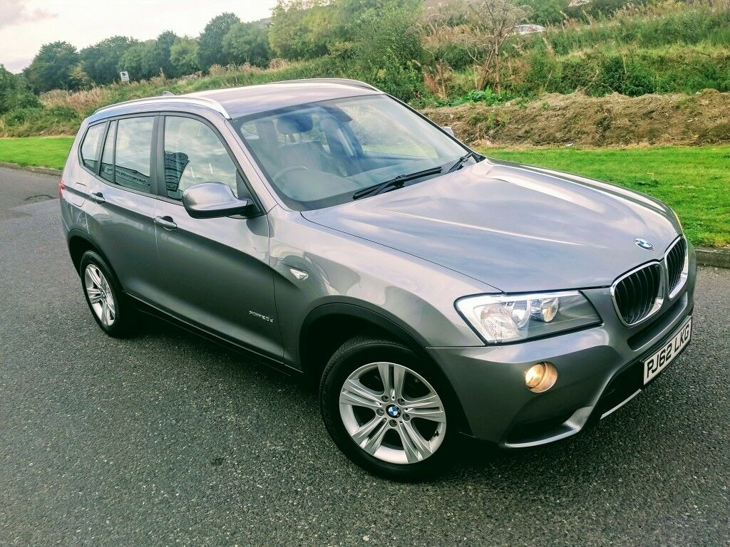 2013 Bmw X3 20D SE XDRIVE AUTO SPACE GREY METALLIC BLACK