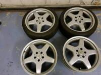 18 inch Mercedes audi vw alloy wheels pcd 5x112