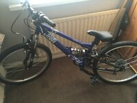 "Halfords Sandstorm 24"" bike. Brand new"