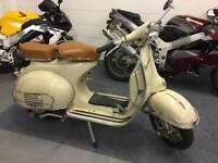 Vespa VBB 150 1965 UK Model recently refurbished