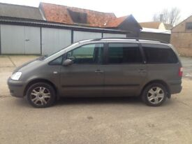 Ford Galaxy 2001 7 seater car Mpv family