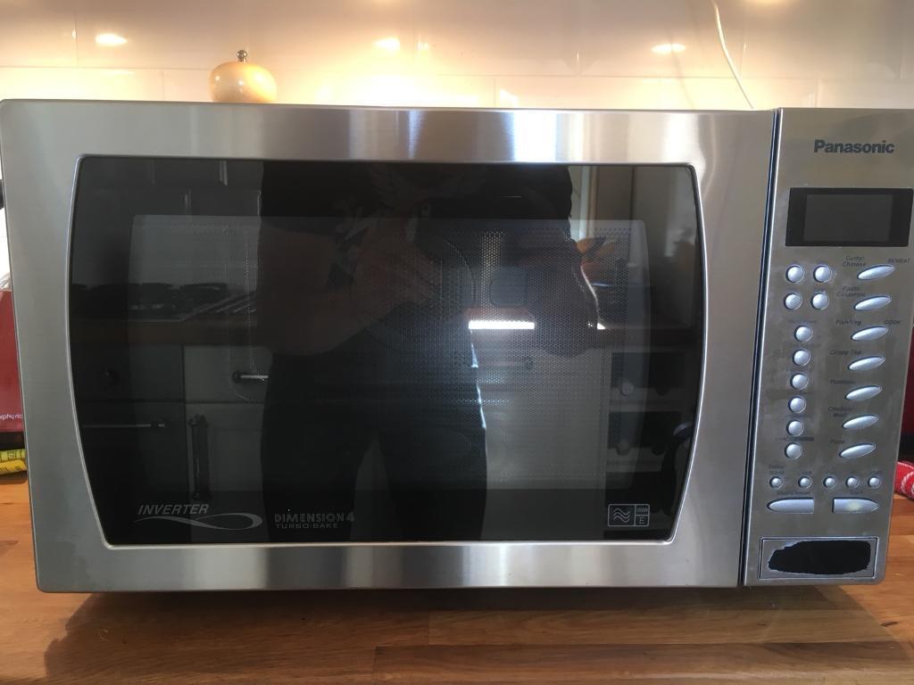 Panasonic Inverter Dimension 4 Turbo-Bake Microwave Oven Grill | in  Borrowstounness, Falkirk | Gumtree
