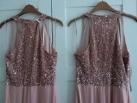 Hand beaded and chiffon dresses from Monsoon
