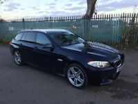 2011 61 BMW 520D M SPORT AUTOMATIC F11 ESTATE LIGHT DAMAGED SALVAGE REPAIRABLE