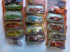 12 Disney Cars (Die Cast). Unopened, original Packs. **Ideal Xmas Presents**