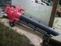 MTD 2 stroke garden blower/ vac