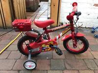 Small fireman bike