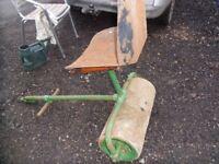 heavy duty cast iron roller towable
