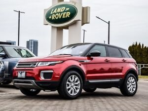 2016 Land Rover Range Rover Evoque Very low KM's !