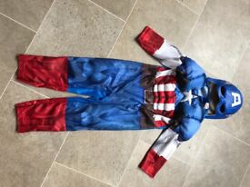 Captain America dressing up 4-5